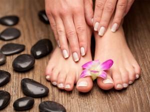 vernis pour ongles de pieds
